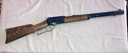 1960's Topper Johnny Eagle Red River Lever Action Cap Rifle Gun Engraved