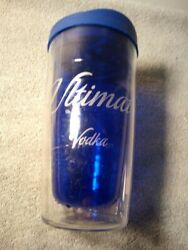 Ultimat Vodka Insulated Drink Container--with Lid-----free Ship--vgc