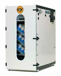 New Gqf 1202e Incubator With Egg Trays And 3030 Water Reserve System Complete