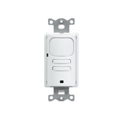 Hubbell Control Solutions Lhirs1-g-wh Lighthawk Pir 1-button Wall Switch