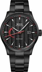 Midow M0384243305100 Menand039s Wrist Watch Power Reserve Black Automatic