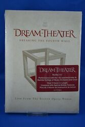 Dream Theater Breaking The Fourth Wall Live From Boston Opera Bluray New Sealed