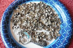 Some Sterling Silver Scrap Lot Watch Part Earring Jewelry Making Crafts Vintage