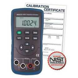 Reed Instruments R2800-nist Temperature Simulator Thermocouple And Rtd With