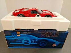 Exoto 118 Ford Gt40 Mkii 1966 Le Mans Red Shelby Signature Edition W/ Box 135