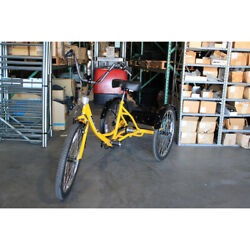 Husky Bicycles 160-336 Industrial Tricycle,600 Lb Cap,26