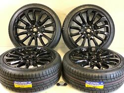 22 Wheels Rims Tires Fits Range Rover Edition Supercharged 5x120 Black Full