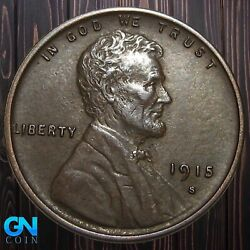 1915 S Lincoln Cent Wheat Penny -- Make Us An Offer K5916