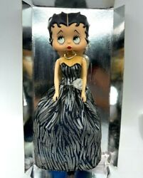 Betty Boop Collectible Fashion Doll In Stand Included 1998