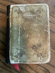 Antique/vintage Pocket Bible New Testament, Undated, Early 1900s Oxford London