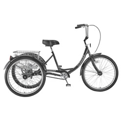 Husky Bicycles 160-309 Industrial Tricycle,600 Lb Cap,26