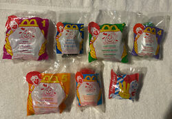 Mcdonalds Happy Meal 1996 Halloween Mcnugget Buddies Toys All 6 + U3 New Sealed