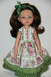 Paola Reina 13 Vinyl Doll W/5 Outfits -friend For Effner Little Darling=new