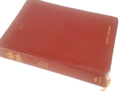Imperial Holy Bible Crusade New Analytical Study Edition 1970 Genuine Leather