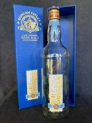 1966 Highland Park 37 Year Old Whisky - Hand Numbered Duncan Taylor Bottle And Box