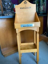 The Macallan Whisky Presentation Display Cabinet Impressive Collectible