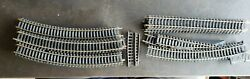 Vintage Mixed Lot Of 40 Ho Model Train Tracks, Straights, Curves, Switches