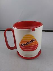 Vintage Winchell's Donut House Travel Coffee Cup Mug Fast Food Restaurant Ff