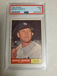 Great 1961 Mickey Mantle Sharp Card Best On Ebay For The Grade
