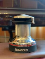 Harken 46 Self Tailing Radial 2 Two Speed Chrome Winch