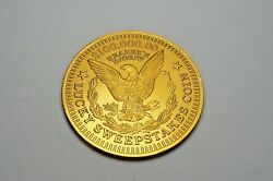Readers Digest 100,000.00 Lucky Sweepstakes Aluminum Coin Token