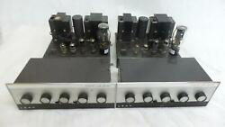 Leak Tl12+ Valve Amplifiers Serviced Working Pair With Varislope Mono Preamps