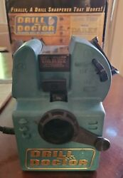 Vintage Drill Doctor 750sp Drill Bit Sharpener With Box And Instruction Manual
