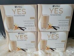 56 Packets Yoli Yes Protein Shake Vanilla Flavor Brand New 56 Servings Exp11/20