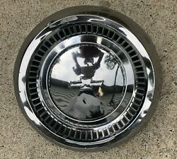 1964 Chevrolet Bel Air Biscayne 10 1/2 Chrome Dog Dish Poverty Hubcap