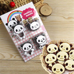 Panda Cookies Mold Sandwich Cutter Biscuit Bread Cake Mold Pastry Sugar Crafs1