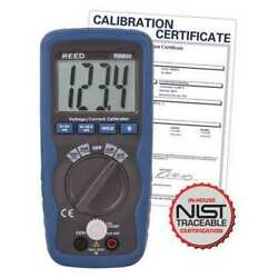 Reed Instruments R8800-nist Voltage/current Calibrator, 199.99mv/19.99ma With