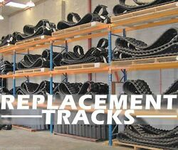 Takeuchi Tl130-tl230-tl8 Skid Loader Replacement Track Set Of 2 Dominion Brand