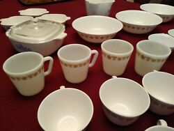 Corning- Corelle Huge Lot-90 Pcs -cookware, Serving, Tableware Must See