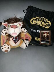 Blizzard Plush Toy - Wind Rider Cub World Of Warcraft Wow With Code