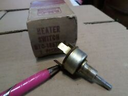 1957 1958 1959 1960 Ford Pickup Truck Nos Heater Switch B7c-18578-a