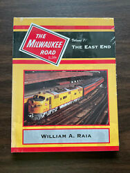 Milwaukee Road In Color Vol 1 The East End Morning Sun Railroad 1995 Cmstpandp