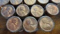 Lot Of 20 1964 Lincoln Cent Penny Roll Uncirculated Pennies Unopened