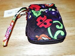 MULIT COLOR QUILTED LADY BG WRISTLET ID WALLET. NWT $10.95