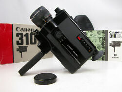 Beautiful And Working Canon 310 Super 8 Movie Camera Great Film Student Cam