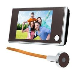 Electronic Peephole Viewer Digital Peephole Viewer 1.0mp For Home Security