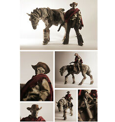 3a Toy 1/6 Blind Cowboyandghost Horse Primary Colour Version H12inch Action Figure