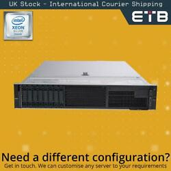 Dell Poweredge R740 1x8 2.5 - Xeon Silver Cpus - Build Your Own Server