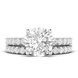 1.6ct D-si1 Diamond With Accsdts Engagement Ring 950 Platinum Any Size
