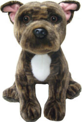 12quot; Brindle Staffordshire Bull Terrier teddy toys Staffie soft toy dogs Staffies
