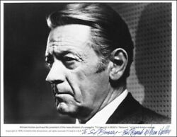 William Holden Actor Signed Photograph - 1976 Network - Aa Nominated Role