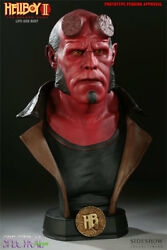Sideshow Hellboy 2 11 Life Size Replica Bust Statue 86 Of 500 New Ron Perlman