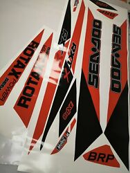 Seadoo Rxt Rxtx Is As Rs 255 260 300 2009-2017 Graphics Kit Decals Stickers Set