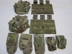 Army Ocp Molle Pouch Rifleman Set Scorpion Camouflage Magazine Canteen Grenade
