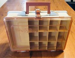 Vintage Double Sided Plano 1126 Magnum Portable Tackle Box Fishing Organizer