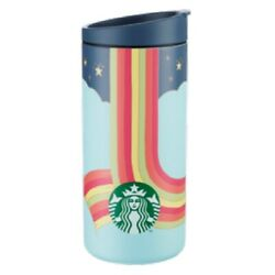 Starbucks Joy Of Connection Stainless Steel 12oz Travel Cup Mug Tumbler - New